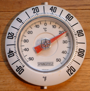 Raumthermometer_Fahrenheit+Celsius